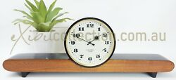 Retro Style Electronic Allegro Ussr Quartz Battery Vintage Mantel Clock 1025
