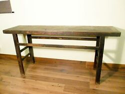 Antique Chinese Ming Painting Table 5554 Cypress/elm Wood Circa 1800-1849