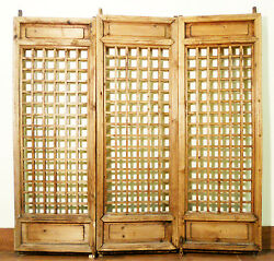 Antique Chinese Screen Panels 5127temple Doors, Cunninghamia Wood, 1800-1849