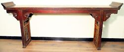 Authentic Antique Altar Table 5082 Circa Early Of 19th Century