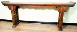 Antique Chinese Altar Table 5075 Ming Style Circa Early Of 19th Century