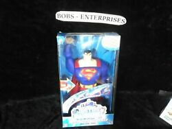 Justice League Unlimited Sonic Zoom Superman Electronic Light Sound F-47