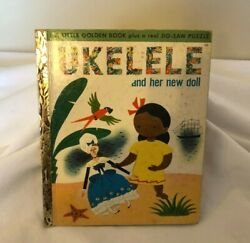 Little Golden Ukelele And Her New Doll Jigsaw Puzzle Book 1st Ed 1951 No Puzzle