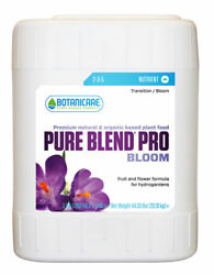 New Botanicare Pure Blend Pro Bloom 5 Gallon Hydroponic Flowering Nutrients
