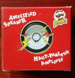 Pringles Amplified Speaker, Collectible Promotional Item, Fits On Pringles Can