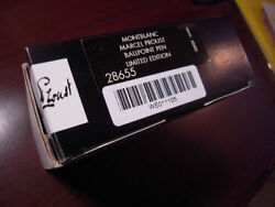 Limited Edition Marcel Proust Ballpoint Pen New In Box Sealed