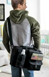 Active Doodie Dads DiaperBag Tactical Style Squad Patch Med Messenger Strap NEW $49.50