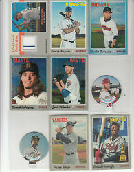 2019 Topps Heritage Insert 1970 Candy Lids Bryce Harper 15 Nationals