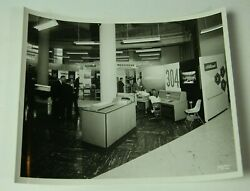 196 Ncr Computer Trade Show Photo 8x10 - 304 Electronic Data Processing 98279-1