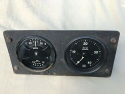 Vintage Classic Car Boat Ac Spinx Revcounter Amps And Oil Pressure Dashboard