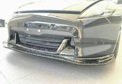 For Nissan Z34 370z 09-12 Zenki Ts-style Front Lip Spoiler Forged Carbon Look
