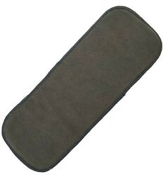 14 X 5.5 Charcoal Bamboo Cloth Inserts Incontinent Pads For Baby/adult Diaper