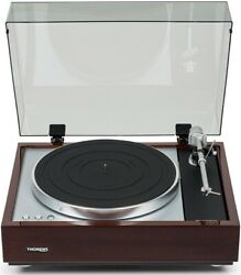 Thorens Td 1600 Walnut Classical Wooden Plinth Turntable Authorized-dealer