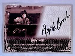 Artbox - Harry Potter And The Order Of The Phoenix Auto Card - Prof Grubbly-plank