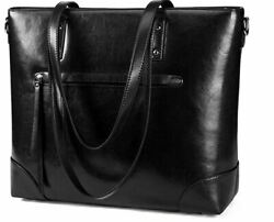 Leather Shoulder Laptop Bag Totes for Women $69.99