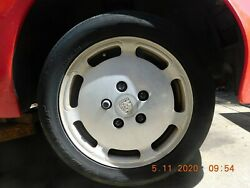 Set Of Genuine Porsche 928 S4 16 Flat Dish Wheels