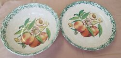 Himark Italy Serving Bowl And Pasta Salad. Hand Painted. Italian Bowls Vintage