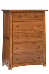 Mission Arts And Crafts Stickley Style Chest Of Drawers - New - Made To Order