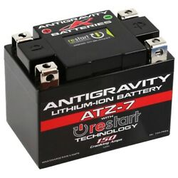 Antigravity Re-start Atz7 Lithium Battery Replaces Ytx5l Cannondale Ex400 00-01