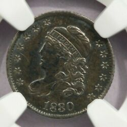 1830 Capped Bust Half Dime H10c Ngc Uncirculated Unc Details Cleaned Nice