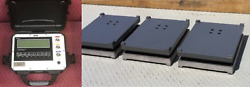 Heavy Duty Airplane Scale Three Pads 9000 Lb Aircraft Wheel Scale Faa Approved