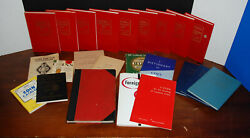Coin Collecting Guide Book Lot 1965 And Up Yeoman-charlton-brown-baker 21 Books