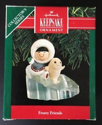 Hallmark Ornament Frosty Friends - 11 In The Series - Dated 1990