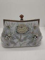 Evening Bags And Clutches For Women Vintage Style Crystal Rhinestone Handbag $14.99