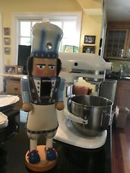 Large Nutcracker In Form Of A Chef Made In Germany