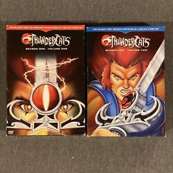 Thundercats Season 1 Volumes One And Two Complete W/ Slipcover - Box Set