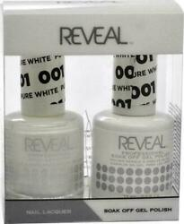 Reveal Gel Polish And Nail Lacquer Matching Duo Soak Off Choose Any One