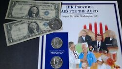 World Old Us Coins Lots Jfk's Collection Coins Bank Notes
