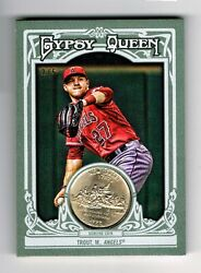 Mike Trout 2013 Topps Gypsy Queen 14 Milville New Jersey Quarter Ser2/5 L@@k