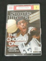 Lebron James February 18, 2002 First Sports Illustrated Cover No Label 9 Mint