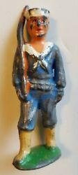 Barclay Lead Toy Soldier Sailor Rare Japanese Copy Manoil