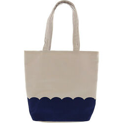 Janie And Jack Scalloped Canvas Tote