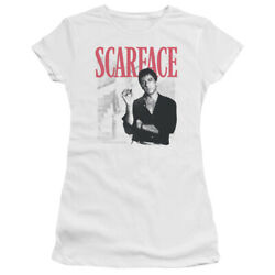 Scarface Stairway Womenand039s Adult Or Girland039s Junior Babydoll Tee