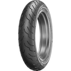 Dunlop American Elite Front Motorcycle Tire Narrow White Wall 130/80b17 Nws 65h