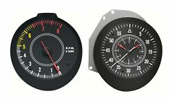 Oer Rallye Tachometer And Clock Set 1970-1971 Dodge Challenger And Plymouth Cuda