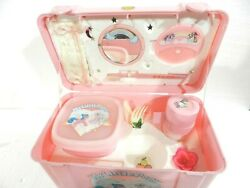 Vintage My Little Pony G1 Lunch Box With Accessories 1986 Hasbro Nonuse