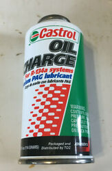 6415 - A New 4oz Can Of Castrol Oil Charge For R-134a Ac Systems