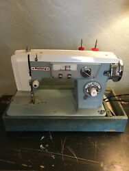 Rotary De Luxe Zig Zag Precision Sewing Machine. Model Kns. Made In Japan 1950