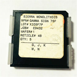 Sierra Monoithics Gamma Sign 7sf Xiosf7p Ic Rf Power Transistor 0.25andmicrom Phemt