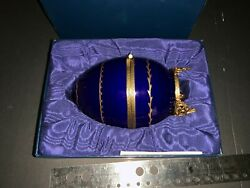 Limoges Series Limitee Faberge Egg Sailing Yacht
