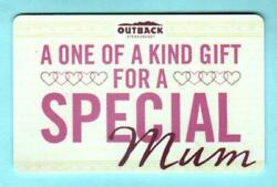 Outback Steakhouse For A Special Mum 2015 Gift Card 0
