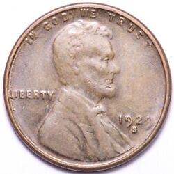 1929-s Lincoln Wheat Cent Penny Choice Unc Free Shipping E784 Knn