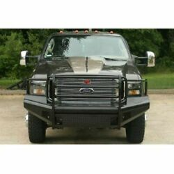 Fab Fours Fs05-s1260-1 Front Bumper W/tow Hooks Black For Ford F250-f350 New