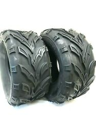 Two 22x10-10 Rear Front Tire Dune Buggy Atv Quad Go Kart 22x10x10 Fast Free Ship