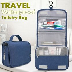 Travel Toiletry Organizer Case Hanging Cosmetic Makeup Bag Storage Wash Pouch $12.48
