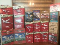 Complete Set Of Wings Of Texaco 47 Airplanes